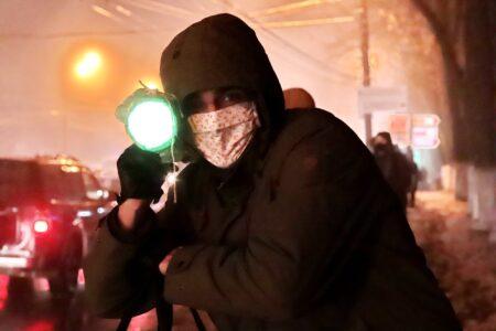 «Презирая непогоду»: в Нижнем Новгороде прошла 14-я «живая цепь» в защиту парка «Швейцария»