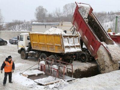Концессию по станции снеготаяния в Нижегородском районе планируется заключить с водоканалом