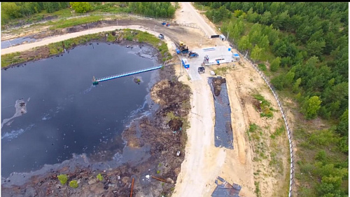 Суд обязал «ГазЭнергоСтрой» не отступать от проекта при ликвидации «Черной дыры»