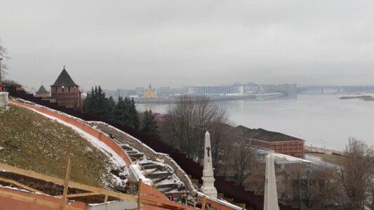 Проезд через арку  Чкаловской лестницы закроют на полгода