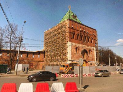 Нижегородский кремль закрыли 19 апреля