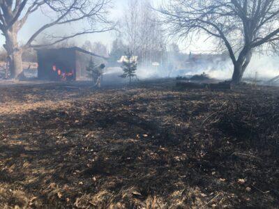 Пенсионер погиб после поджигания травы в Нижегородской области