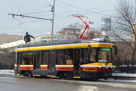 В Нижний Новгород отправили первый ретро-трамвай