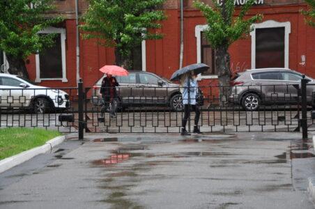 Грозы и ливни надвигаются на Нижний Новгород