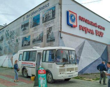 Прививочный пункт открылся на станции канатной дороги «Борская»