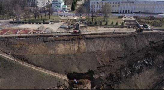 «Лысый» кремлевский склон возмутил нижегородцев