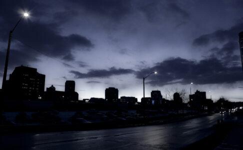 Нижегородцы пожаловались на отсутствие уличного освещения в центре города
