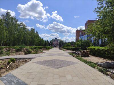 Новый подрядчик завершит благоустройство сквера 70 лет Октября в Нижнем Новгороде