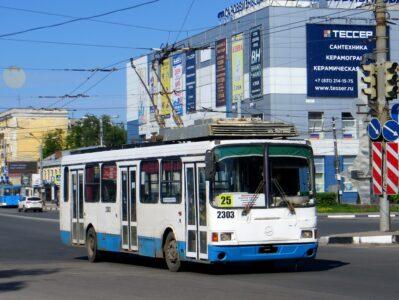 Движение троллейбуса №25 закроют с 21 сентября в Нижнем Новгороде